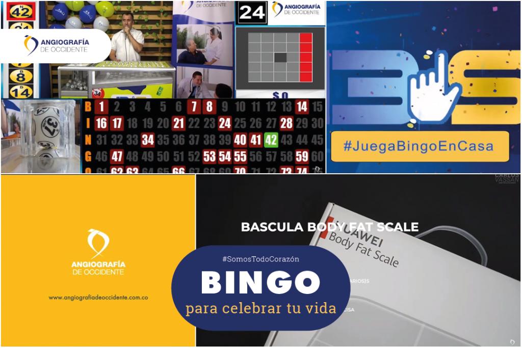 Bingo para celebrar tu vida
