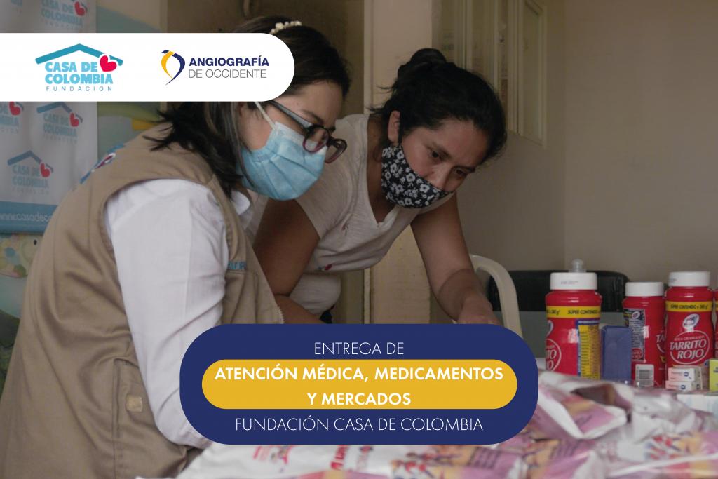 Fundación Casa de Colombia y Angiografía de Occidente, en jornada de salud en los Chorros