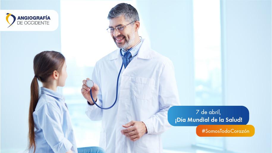 7 de abril, ¡Día Mundial ( de la Salud!