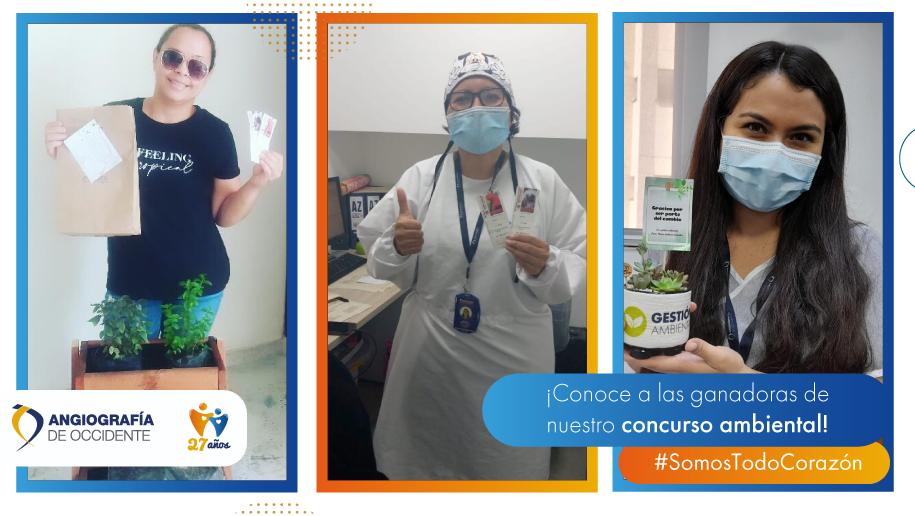 ¡Conoce a las ganadoras de nuestro concurso ambiental!